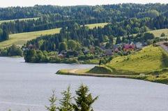 Perm regionu wioska Hohlovka 2011 zdjęcia stock