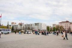 Perm Rosja, Maj, - 09 2016: Ludzie na wakacje Zdjęcia Royalty Free