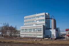Perm, Russia - April 16.2016: New modern industrial building Royalty Free Stock Image