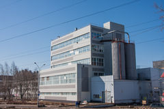 Perm, Russia - April 16.2016:  New modern industrial building Stock Photo