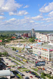 PERM, RUSSIA - JUNE 25, 2014: Shopping center iceberg. Royalty Free Stock Images