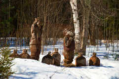 Perm-zoute oren Stock Foto