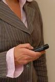 Permanência atualizado com móbil Imagem de Stock
