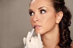 Permanent make-up Royalty Free Stock Photography