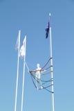 PERMANENTE, RÚSSIA - 11 DE JUNHO DE 2013: Manequim translúcido cor envolvida Fotografia de Stock Royalty Free