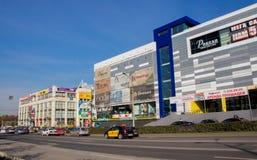 Permanente, Rússia - 26 de setembro 2016: Paisagem da cidade Fotos de Stock