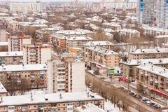 Permanente, Rússia, o 31 de outubro 2015: Cidade do permanente Imagem de Stock Royalty Free
