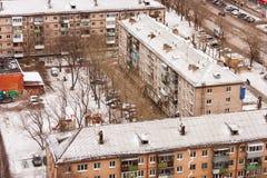Permanente, Rússia, o 31 de outubro 2015: Cidade do permanente Imagens de Stock