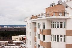 Permanente, Rússia-outubro 31,2015: a cidade do permanente, uma construção nova Imagem de Stock Royalty Free