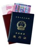 Permiso de entrada a Hong-Kong y a Macau Foto de archivo libre de regalías
