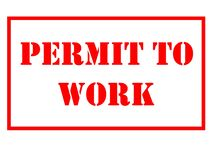 Free Permit To Work Illustration. Permit To Work Is A Safety Tools In Ensuring Work Activities Conducted Are Controlled Safely. Stock Images - 186161824