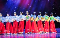 permutatie -Koreaanse dans Royalty-vrije Stock Foto