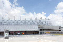 Pernambuco arena i Recife i Brasilien arkivbild