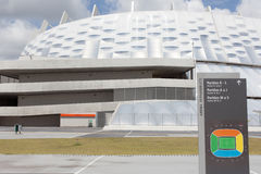 Pernambuco Arena in Recife in Brasil Stock Images