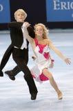 Pernelle CARRON / Lloyd JONES (FRA) Royalty Free Stock Images
