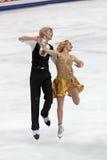 Pernelle Tänzer des Carron und Lloyd-Jones französische Eises Stockfotos
