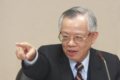Perng Fai-nan, Central Bank of Taiwan's Chief. Perng Fai-nan (彭淮南) announce to trim benchmark to 2.00 percent from 2.75 percent, the biggest cut since Royalty Free Stock Image