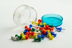 Perni colorati Fotografia Stock
