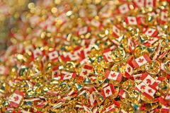 Perni del Canada per il giorno del Canada il 1° luglio Immagini Stock Libere da Diritti