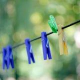 Perni della lavanderia immagini stock