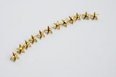 Perni delle stelle Fotografia Stock
