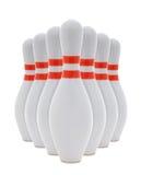 Perni di bowling Fotografia Stock Libera da Diritti