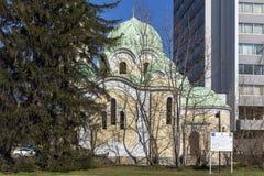Church of John of Rila St. Ivan Rilski in city of Pernik, Bulgaria. PERNIK, BULGARIA - MARCH 12, 2014: Church of John of Rila St. Ivan Rilski in city of Pernik stock photos