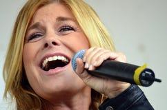 Pernilla Nina Elisabeth Wahlgren. Artist and a singer in Sweden stock images