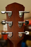 Perno de metal de la guitarra Imagen de archivo libre de regalías