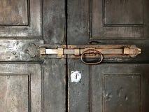 Perno de puerta Imagen de archivo