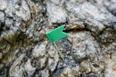 Perno della bandiera del segno Fotografie Stock