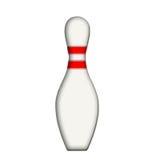 Perno di bowling Immagini Stock Libere da Diritti