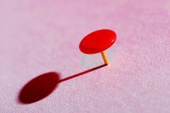 Perno di spinta di colore Fotografia Stock