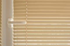 Perno e tenda della finestra fotografie stock