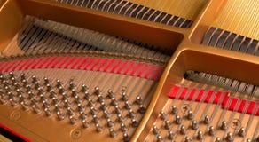 Pernos de adaptación del piano Imagenes de archivo