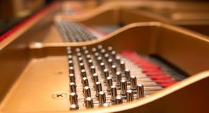 Pernos de adaptación del piano Imagen de archivo libre de regalías