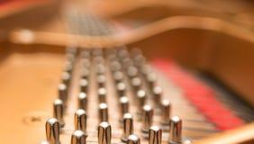 Pernos de adaptación del piano Fotografía de archivo