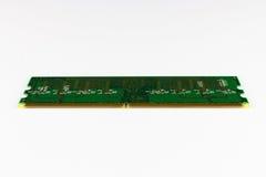 Pernos de la memoria DDR2 Fotografía de archivo libre de regalías