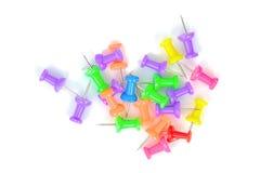 Pernos de papel coloridos Foto de archivo