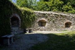 Pernstejn Schloss Lizenzfreies Stockfoto