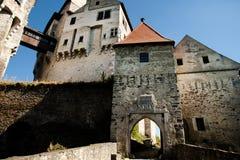 Pernstejn-Schloss - Tschechische Republik stockbild