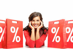 Período das vendas Foto de Stock Royalty Free