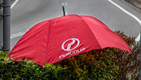 Perodua Umbrella Royalty Free Stock Photography