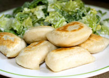 Perogies Stock Photography