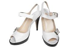 peron płci żeńskiej buty Obraz Stock