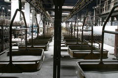 peron przemysłowej Zdjęcia Royalty Free