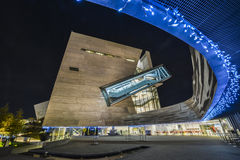 Perot Museum Dallas Texas in HDR Royalty Free Stock Photos