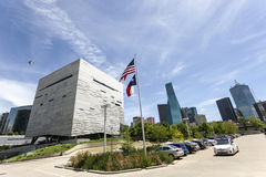 The Perot Museum of Nature and Science in Dallas, TX, USA stock image