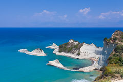 The Peroulades's Rocks. Greece, Corfu Royalty Free Stock Images