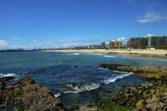 Free Perpective View To Matosinhos Beach  Porto-Portugal Royalty Free Stock Photo - 188301985